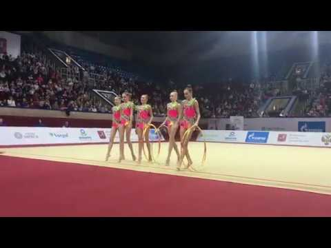 Junior Team Russia - Junior 5 Hoops 21.90 AA Junior IT Moscow 2019