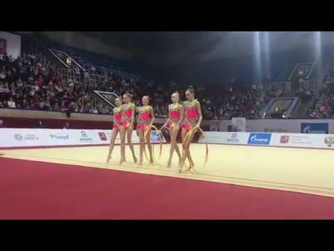 Junior Team Russia - Junior 5 Hoops 21.90 AA Junior IT Moscow 2019