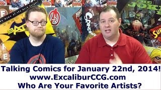 Talking Comics for 01.22.14 - All-New Invaders #1, Deadly Class #1, The Walking Dead #120, & More!