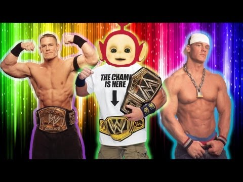 WWE JOHN CENA - GANGSTER & THUG TO A KISS & A HUG Travel Video
