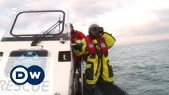 Rettung von Flüchtlingen vor Lesbos | DW Reporter
