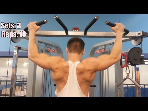 Back & Biceps Workout - Hypertrophy Training+ Fat burning
