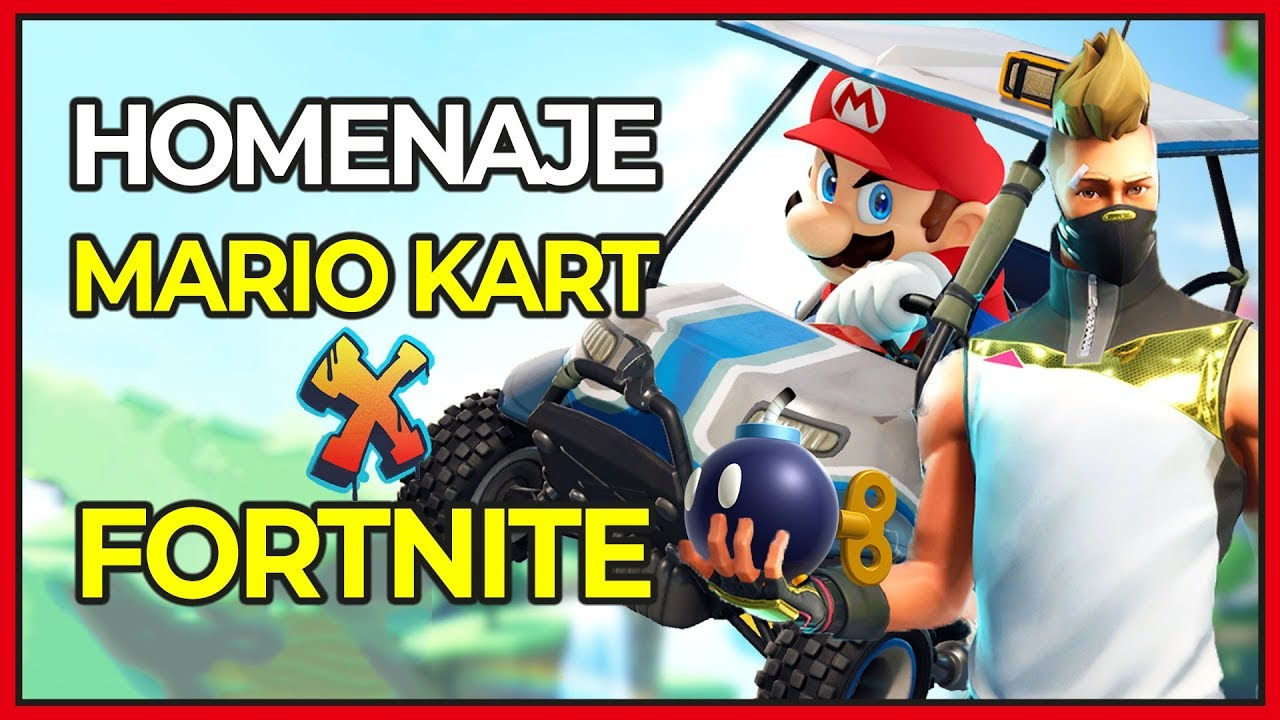 Easter Egg De Mario Kart En Fortnite Para Switch Epic Games