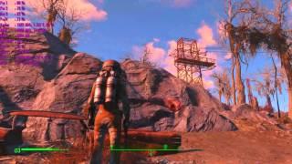 Fallout 4 Максимальная сложность Частичная демонстрация боевой системы ULTRA GRAPHIC MODDED