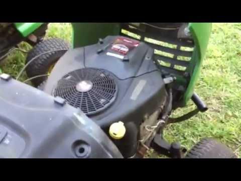 My John Deere project mowers- L120 and La120 - YouTube