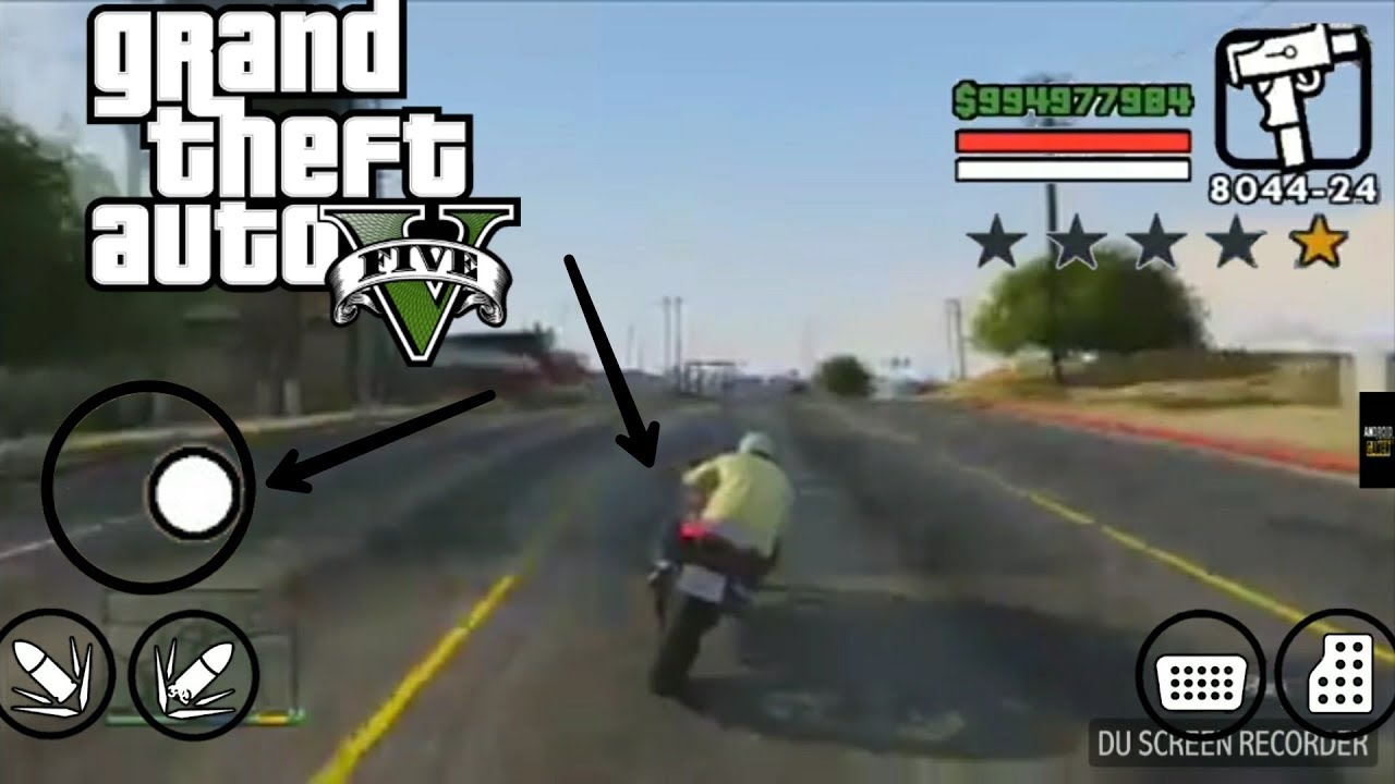 grand theft auto v apk+data
