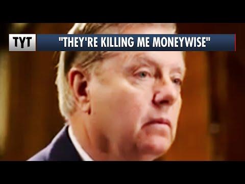 Lindsey Graham's DESPERATE Attack on ActBlue