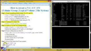IBM UNIX - How to Create the Volume Group, Logical Volume, File System on the AIX 6.1