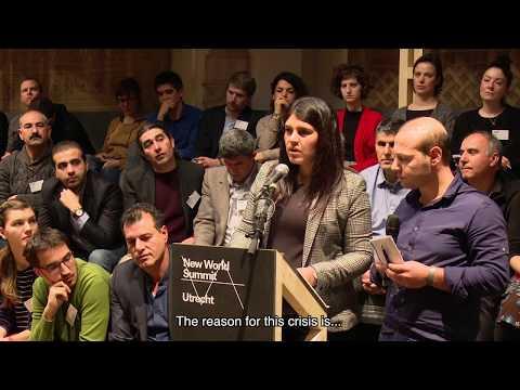 NWS Utrecht. Day II: Stateless Democracy! Block II with Dilek Öcalan (HDP)