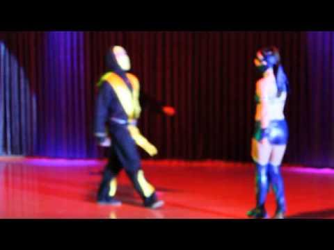 Mortal Kombat Theme Cha Cha Scorpion vs Kitana v1