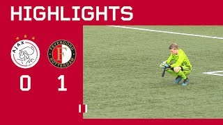 Highlights Ajax O14 - Feyenoord O14