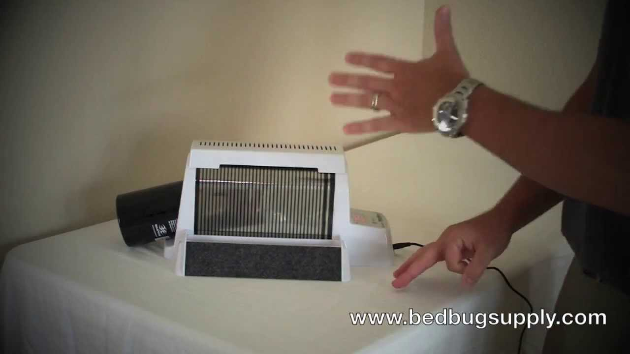 nightwatch co2 bed bug monitor and trap review - youtube