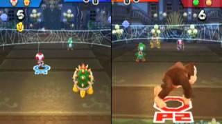 Mario Sports Mix Vs Luigi