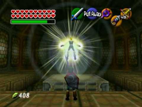 "Legend of Zelda Ocarina of Time Walkthrough 14 (7/10) ""Ganon's Castle: GANONDORF"""