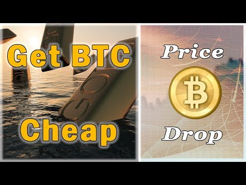 BITCOIN PRICE DROP!? Where Is The Cheapest Place To Buy Bitcoin? | Crypto Wizards