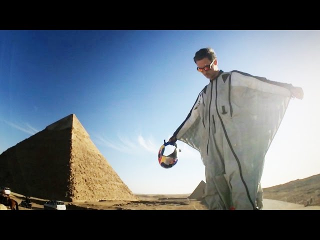 Wingsuit Flying Over Pyramids: Red Bull Leap of Wonder