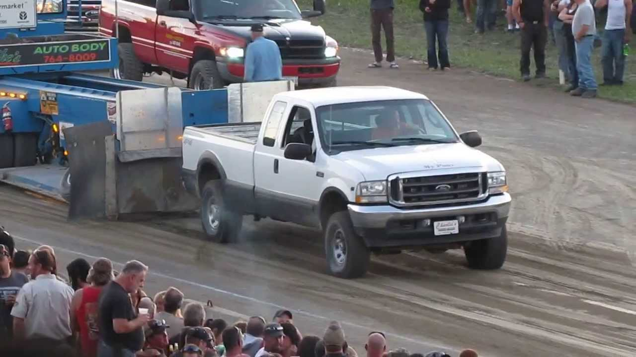 ford  triton  truck pull youtube