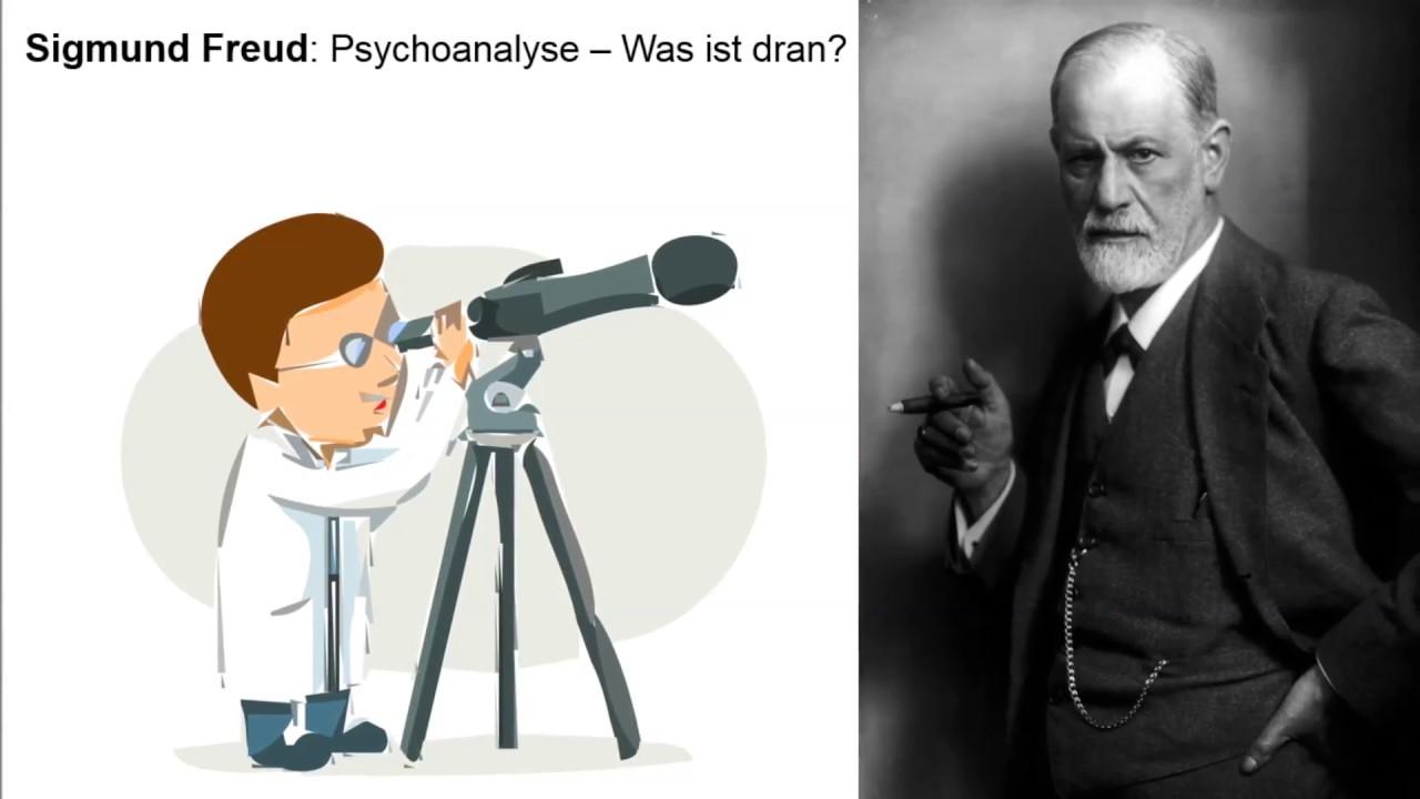 Sigmund Freud Psychoanalyse Was Ist Dran