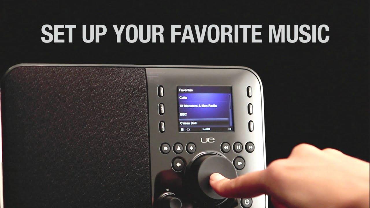 Logitech UE Ultimate Ears™ Smart Radio - YouTube
