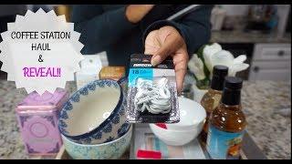 HOW TO MAKE A HOME COFFEE BAR | COFFEE STATION | HOME ORGANIZATION