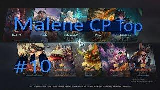 Vainglory 5v5 [Ranked] - Malene  CP  Top Lane Gameplay #10