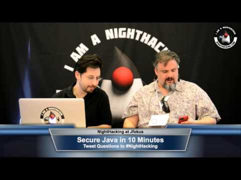 10 Minute Java Security