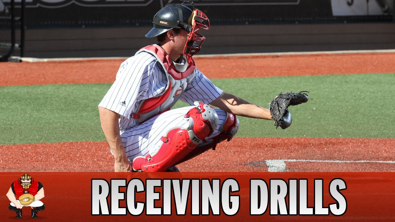 Catching 101 - Baseball Catcher Receiving Drills - YouTube