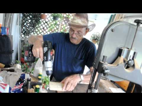 How to Make a Wall Mounted Guitar Holder - Uncle Knuckle's Workshop