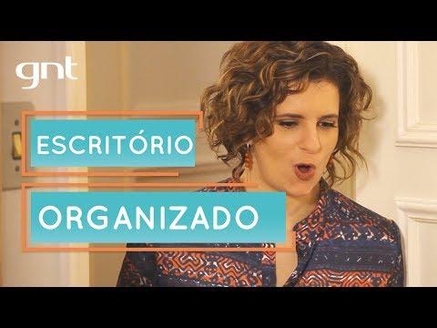 Escritório Organizado | Micaela Góes | Santa Ajuda