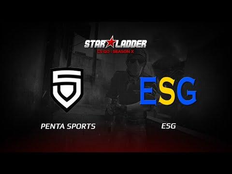 ESG vs Penta Sports, StarSeries X, dust2