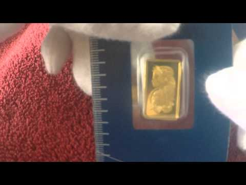 SilverInvestors.co: 2.5 gram Gold Bar - Pamp Suisse Lady Fortuna (In Assay)