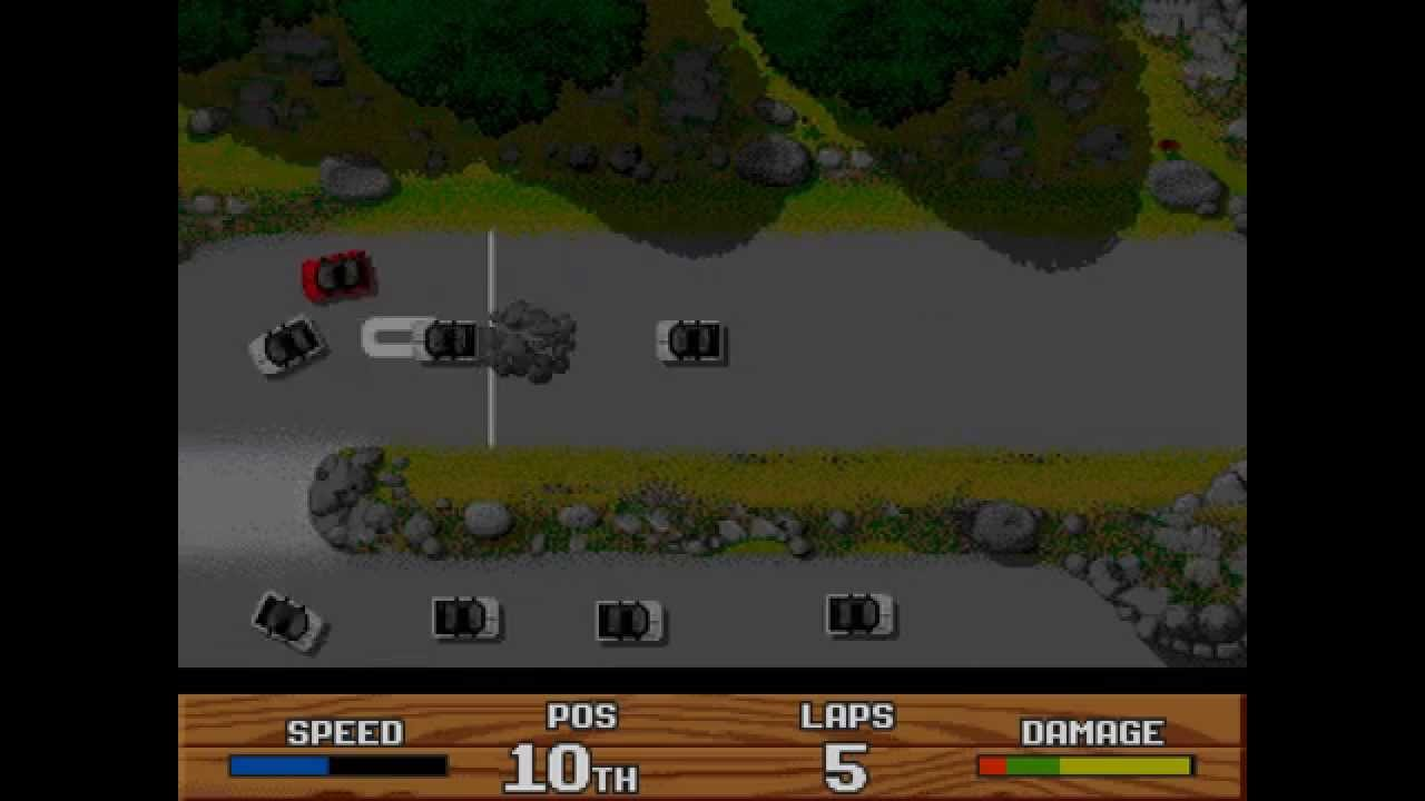 Super Cars Ii Longplay Amiga 50 Fps Youtube