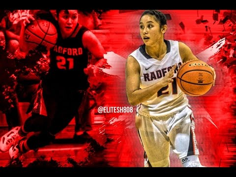 Jazmyn Peralta Senior Basketball Highlights | Radford High School (HI) | Class Of '16