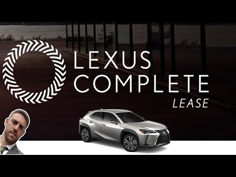 Lexus Introduces FUTURISTIC Short-Term Leasing Services | Lexus Complete Lease and KINTO Leasing