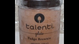 Talenti Gelato: Fudge Brownie Review