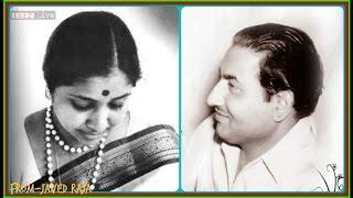 RAFI & ASHA-Film-AAG KA DARIYA-1953~Kehta Tha Zamana Magar Hum Ne Na Maana-[ Rare Duet-HQ Audio