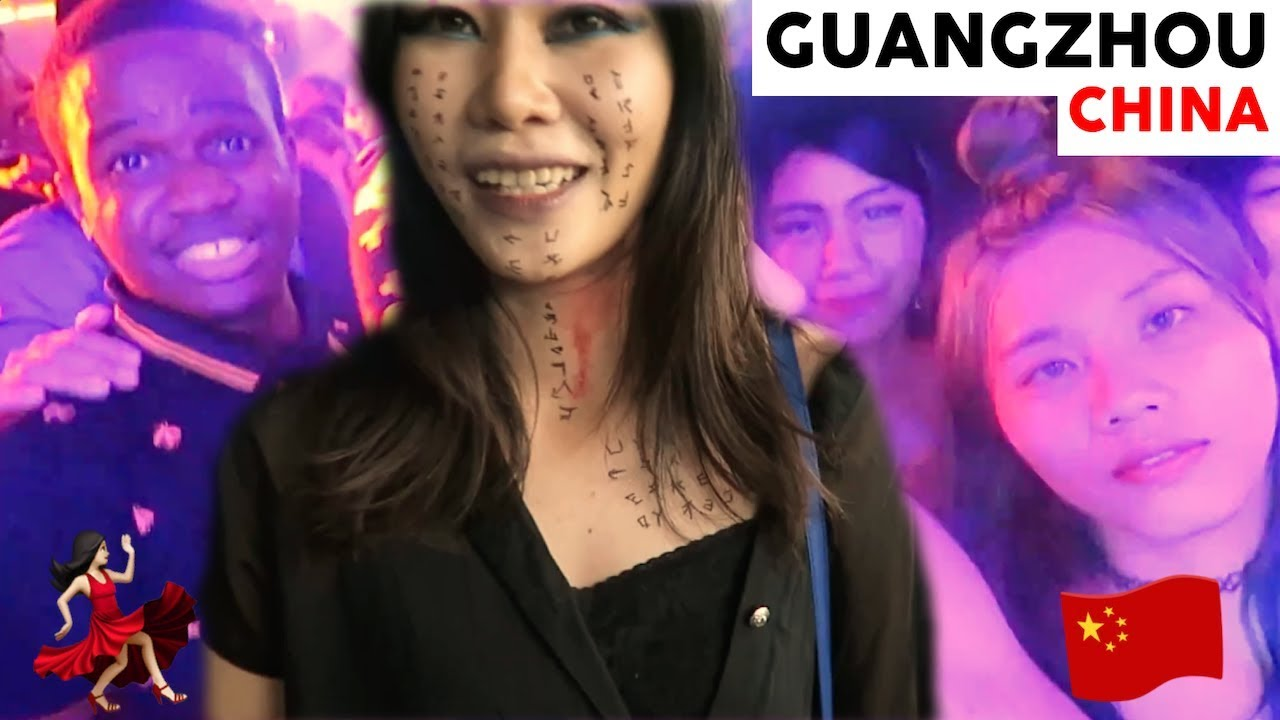 CHINA NIGHTLIFE ??Guangzhou Party Pier on Halloween ft. Chinese Girls & Food  [Vlog128]