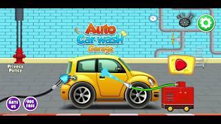 Kids Car Wash Service Auto Workshop Garage | Android GamePlay