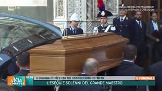 Le esequie solenni del maestro Franco Zeffirelli - La vita in diretta Estate 18/06/2019