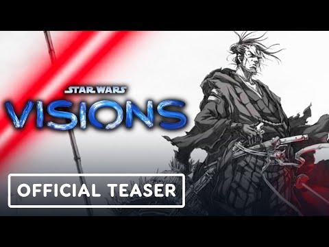 Star Wars: Visions - Official Teaser Trailer (2021)