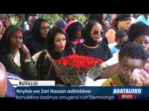Nnyina wa Zari Hassan aziikiddwa
