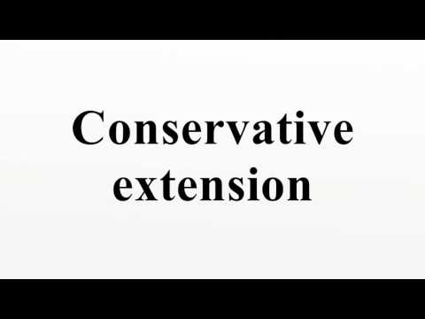 Conservative extension