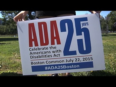 ADA's 25th Anniversary Marked in Boston