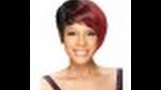 model model flare wig
