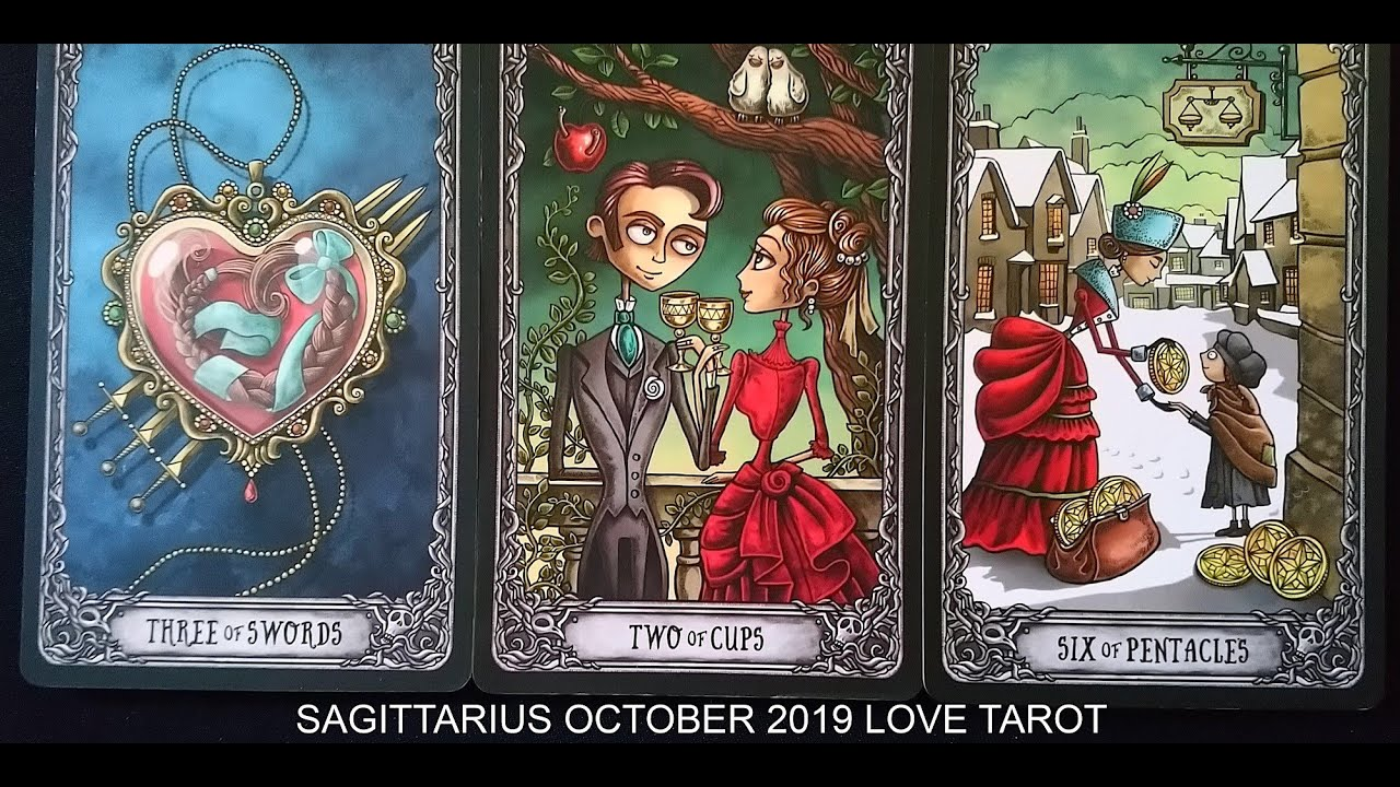 sagittarius love tarot reading october 2019 the tarot reader