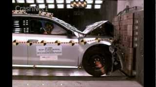 VW Passat | 2012 | Frontal Crash Test | NHTSA High Speed Camera | CrashNet1