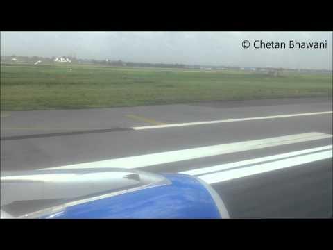 Flight Take-Off Video - Delhi Airport Terminal 1