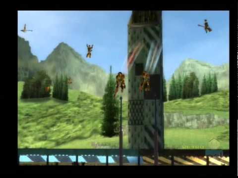 Harry Potter Quidditch World Cup PS2 Multiplayer Gameplay EA Games  Warner Bros