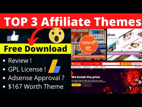 TOP 3 Affiliate WordPress Themes For Amazon & Other Affiliate Website