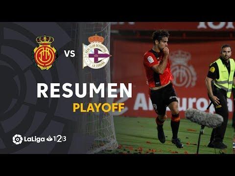 Resumen de RCD Mallorca vs RC Deportivo (3-0)